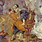 Van Gogh: Samaritan, 1890 Art Print
