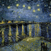 Van Gogh, Starry Night Art Print
