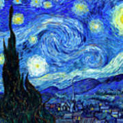 Van Gogh Starry Night Art Print