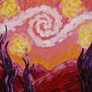 Van Gogh Sunset Art Print