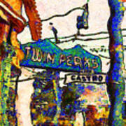 Van Gogh Takes A Wrong Turn And Discovers The Castro In San Francisco . 7d7547 Art Print