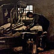 Van Gogh: Weaver, 1884 Art Print