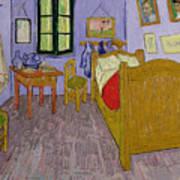 Van Goghs Bedroom At Arles Art Print