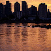 Vancouver From Stanley Park I Art Print