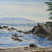 Vancouver Island Art Print