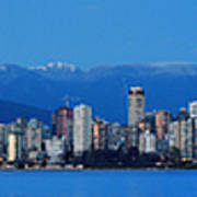 Vancouver Panorama   This Can Be Printed Very Large Art Print