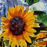 Vangogh Sunny Art Print