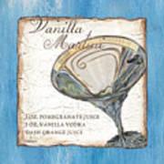 Vanilla Martini Art Print