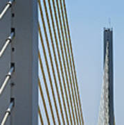 Varina Enon Bridge In Va Art Print