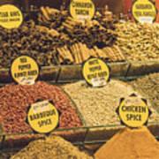 Various Spices Art Print