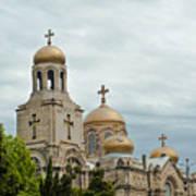 Varna Cathedral,bulgaria Art Print