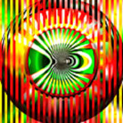 Vasarely Universe Art Print