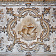 Vasco Da Gama Sarcophagus Lisbon Art Print