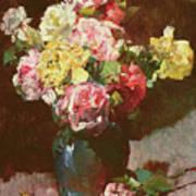 Vase Of Flowers Art Print