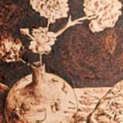Vase With Flowers Art Print