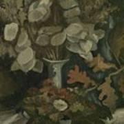 Vase With Honesty Nuenen, Autumn - Winter 1884 Vincent Van Gogh 1853  1890 Art Print