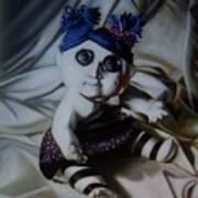 Vashler Baby Doll Art Print by Lori Keilwitz