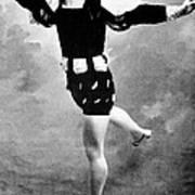 Vaslav Nijinsky, Ballet Dancer Art Print