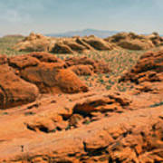 Vast Desert Valley Of Fire Art Print