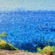 Vast Expanse Of The Ocean Art Print