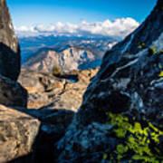 Vastly Majestic High Sierras Art Print