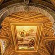 Vatican Museum Painted Ceiling Art Print