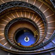 Vatican Staircase Art Print