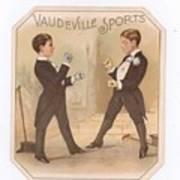 Vaudville Sports Art Print