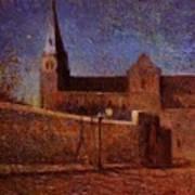 Vaugirard Church 1879 Art Print