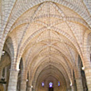 Vaulted Ceiling And Arches Art Print