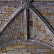 Vaulted Stone Ceiling Art Print
