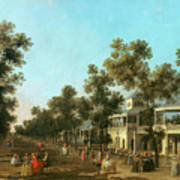 Vauxhall Gardens The Grand Walk Art Print