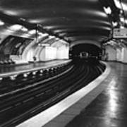 Vavin Station Paris Metro Art Print