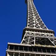 Vegas Eiffell Tower Art Print