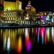 Vegas Reflections Art Print
