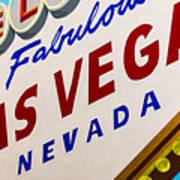 Vegas Tribute Art Print