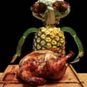 Vegetarian Meal Art Print