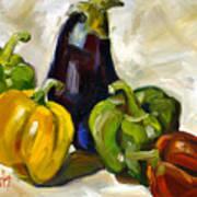 Veggie Delight Art Print