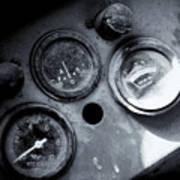 Vehicle Dials In Dust Art Print