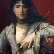 Veiled Circassian Lady Art Print