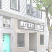 Veiled Mystery Mystery Street  Art Print