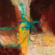 Vein Turquoise Art Print
