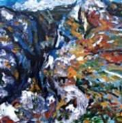 Velebit Paklenica Canyon Art Print