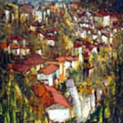 Veliko Tarnovo - Panorama Art Print