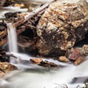 Velvet Falls - Rocky Mountain Stream Art Print