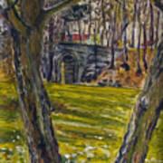 Ven Z Parku Art Print