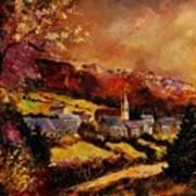 Vencimont Village Ardennes  Art Print