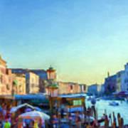 Venetian Afternoon I Art Print