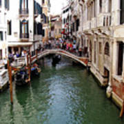 Venetian Bridge Art Print