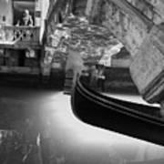 Venetian Daily Scene Art Print